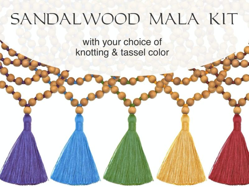 Sandalwood Mala Kit