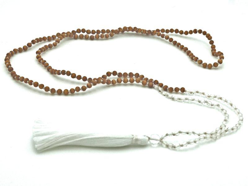 Petite Quartz Tassel Necklace 1