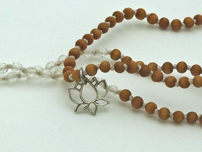 Petite Quartz Tassel Necklace 2