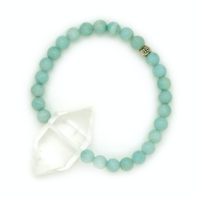 amazonite crystal bracelet