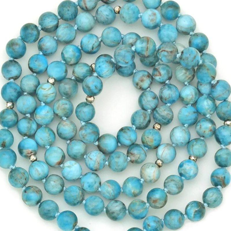 apatite mala beads