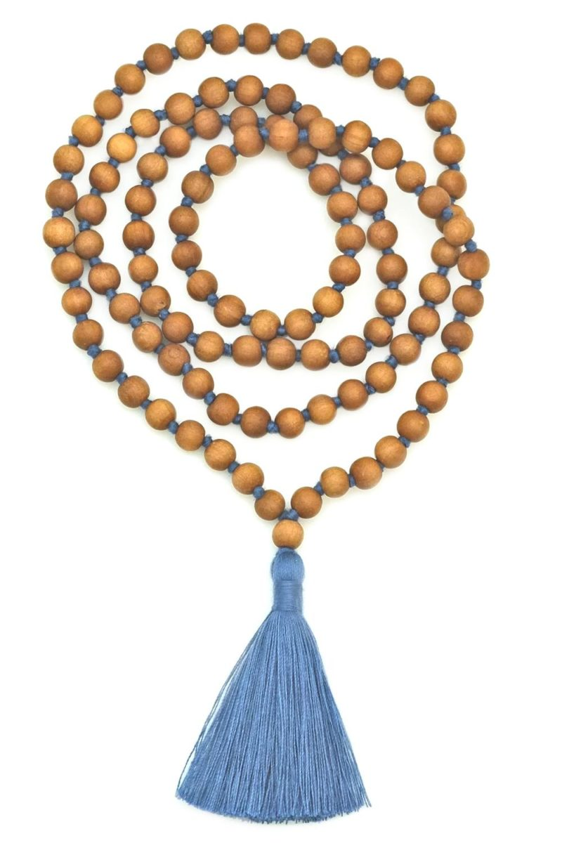 blue sandalwood mala