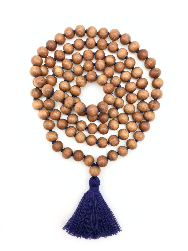 Custom Sandalwood Mala 2