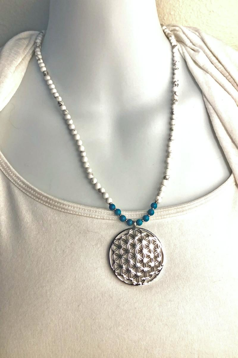 flower of life necklace shortest