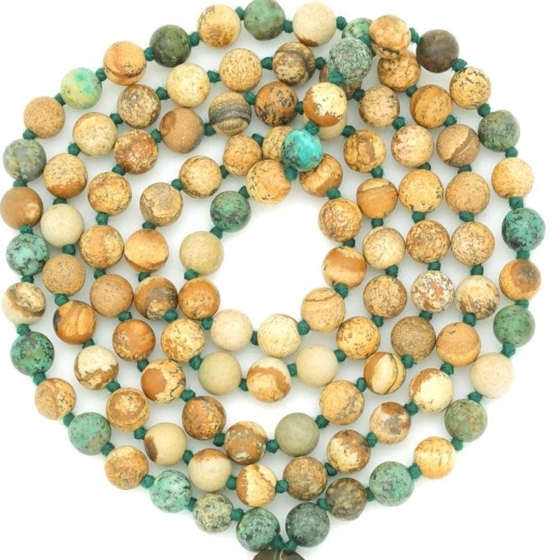 gaia mala beads