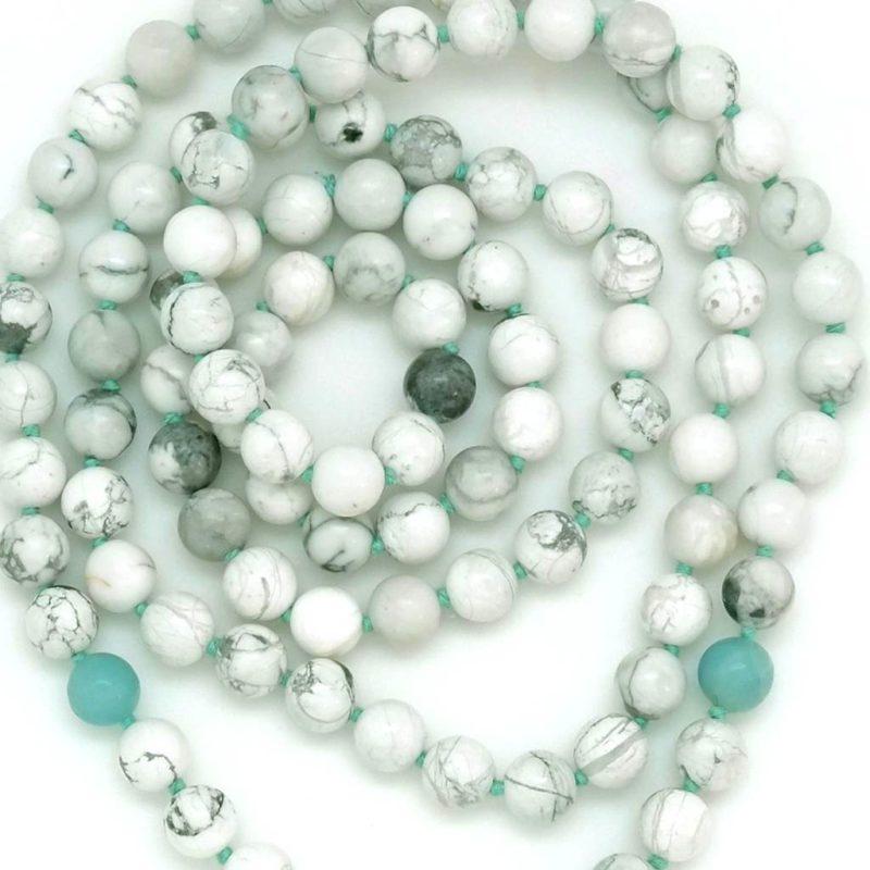 howlite amazonite beads