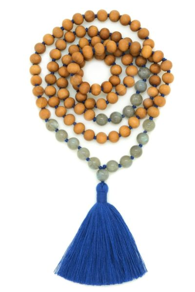 intuition sandalwood mala