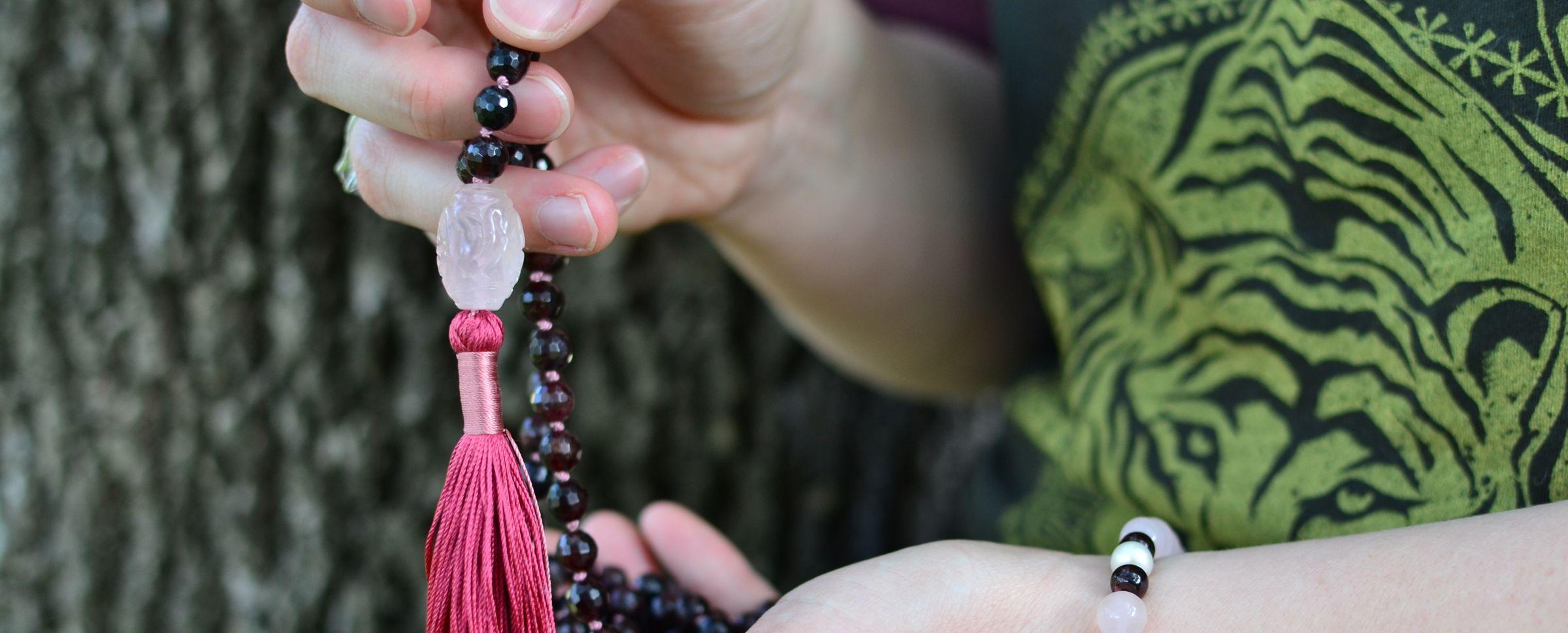 Quality Malas & Jewelry - mala meditation banner