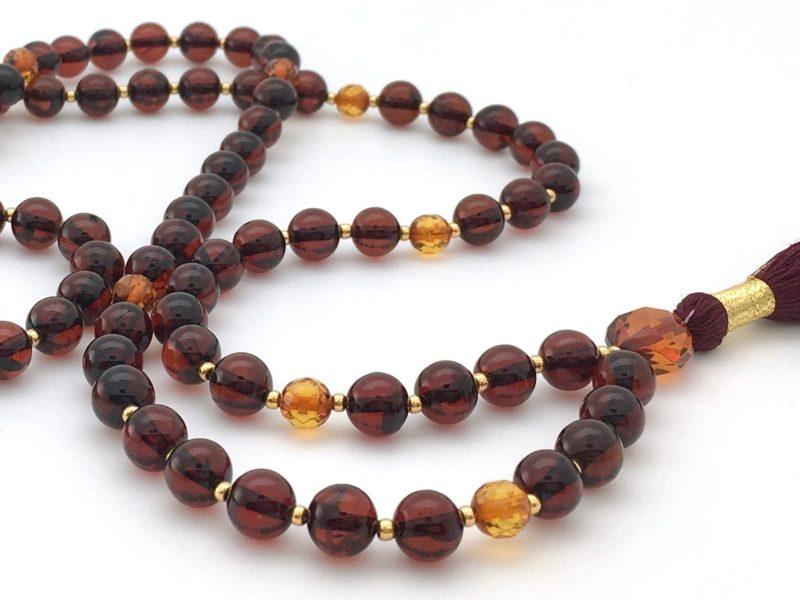 Red Amber Mala 1