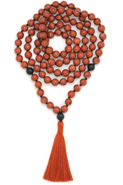 red jasper black onyx kali mala