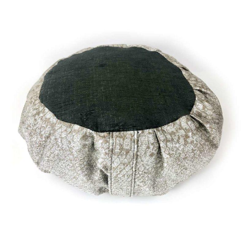 Silver Meditation Cushion 1
