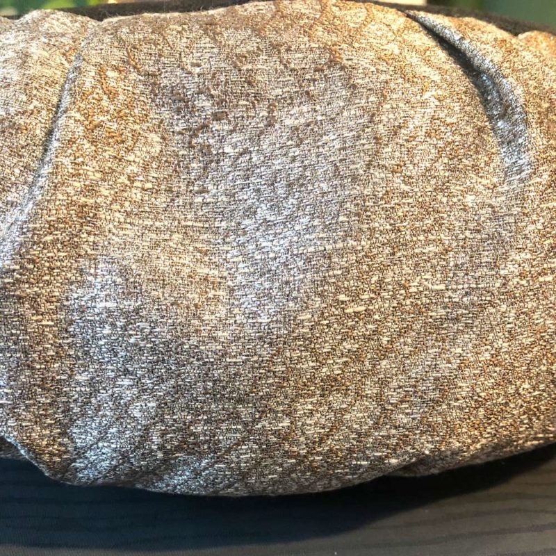 Silver Meditation Cushion 3