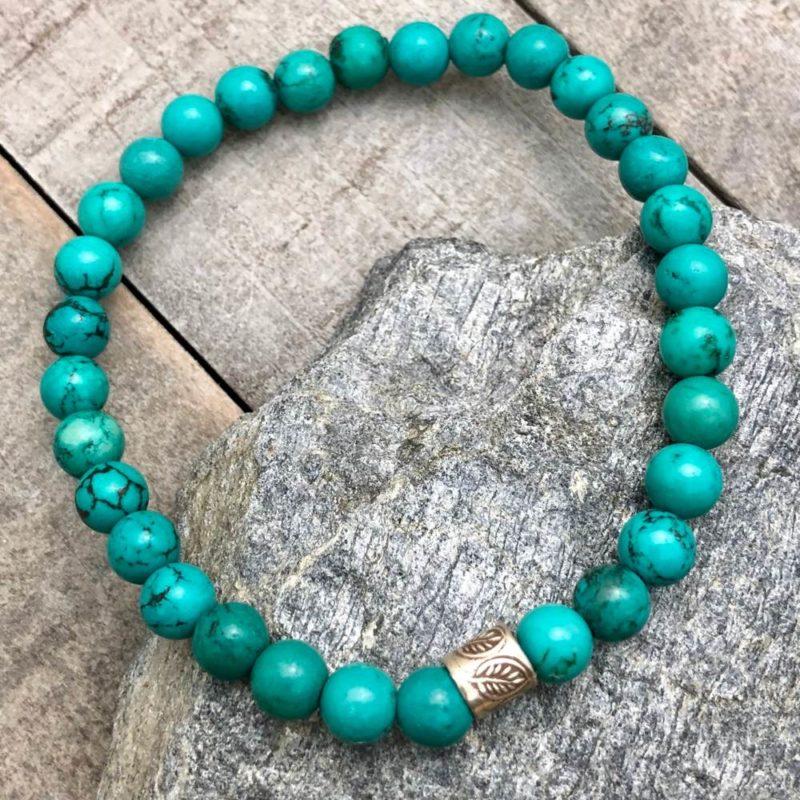 turquoise nature bracelet